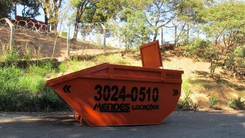 Caçamba/Container tampado - Capacidade 5³