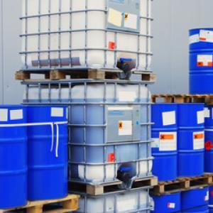 Armazenamento temporário de resíduos