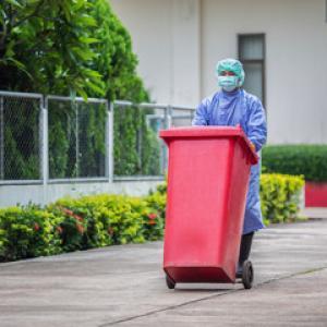 Coleta de resíduos dos serviços de saúde