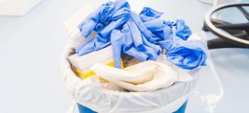 Coleta de residuos hospitalar